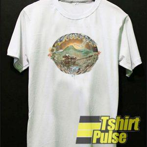 scenic graphic t-shirt for men and women tshirt