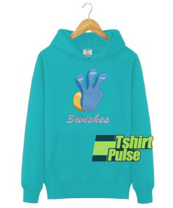 3 Wishes hooded sweatshirt clothing unisex