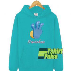 3 Wishes hooded sweatshirt clothing unisex