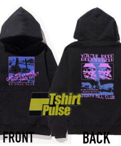 80 Mill Club hooded sweatshirt clothing unisex