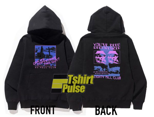 80 Mill Club hooded sweatshirt clothing unisex hoodie