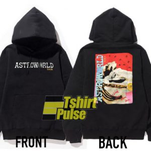 Astroworld Tour Print hooded sweatshirt clothing unisex hoodie