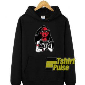 Badass Evil hooded sweatshirt clothing unisex hoodie