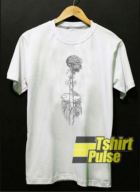 Brain and Cerebellum t-shirt for men and women tshirt