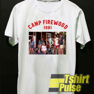 Camp Firewood 1981 t-shirt for men and women tshirt