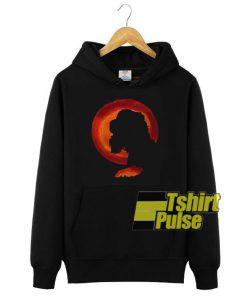 Cocker spaniel moon hooded sweatshirt clothing unisex