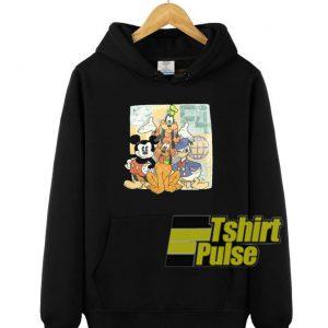 Disney cartoon character hooded sweatshirt clothing unisex hoodie