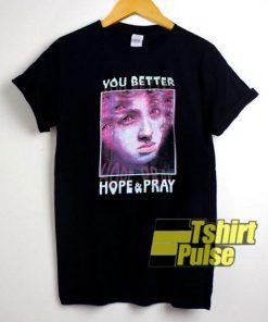 HOPE & PRAY t-shirt for men and women tshirt