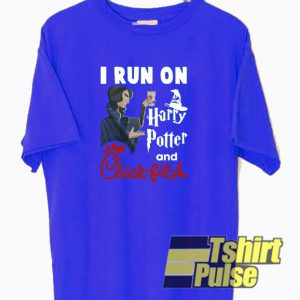 I Run On Harry Potter And Chick t-shirt for men and women tshirt