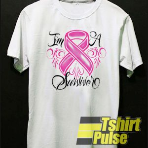 I'm A Survivor Breast Cancer t-shirt for men and women tshirt