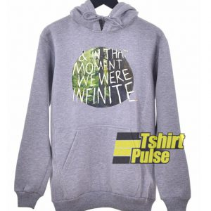 In That Moment Quote hooded sweatshirt clothing unisex hoodie
