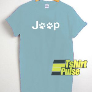 Jeep Dog Paw t-shirt for men and women tshirt