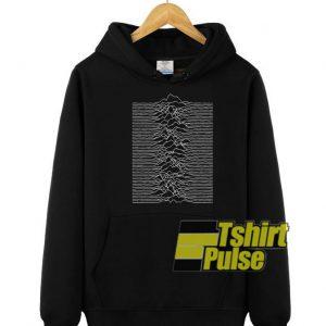 Joy Division Unknown Pleasures hooded sweatshirt clothing unisex hoodie