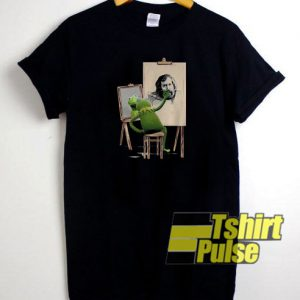 Kermit Frog Draw Jim Henson Potrait t-shirt for men and women tshirt