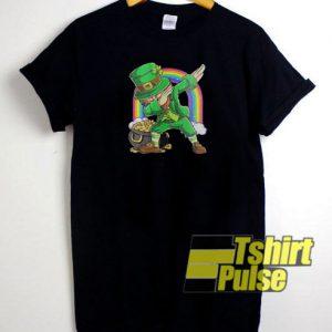 Leprechaun Dabbing t-shirt for men and women tshirt