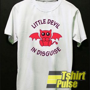 Little Devil In Disguise t-shirt for men and women tshirt