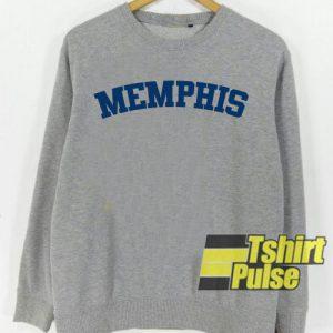 Memphis Grey sweatshirt