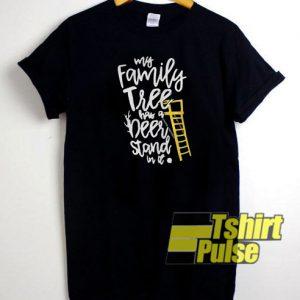 My family tree t-shirt for men and women tshirt