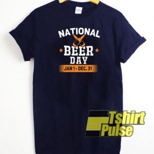 National Beer Day t-shirt for men and women tshirt