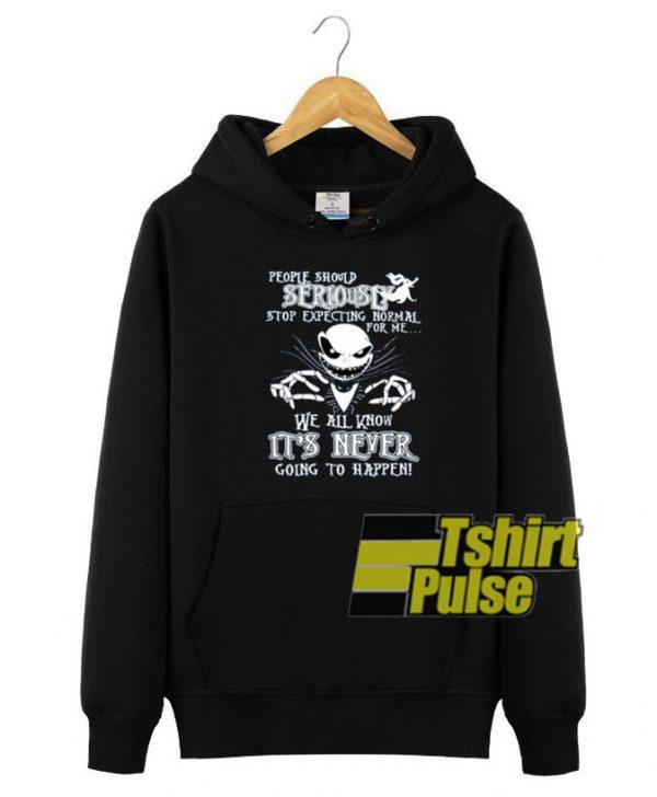 People Should Seriously hooded sweatshirt clothing unisex