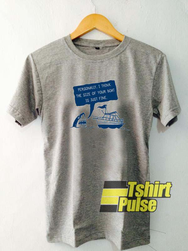 Polite Jaws Basic t-shirt for men and women tshirt
