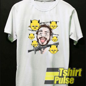 Post Malone Barbed Wire t-shirt for men and women tshirt