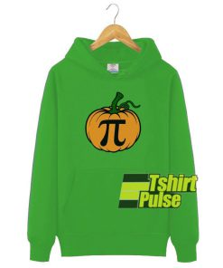 Pumpkin Pi hooded sweatshirt clothing unisex