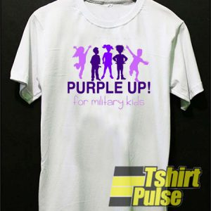 Purple Up t-shirt for men and women tshirt