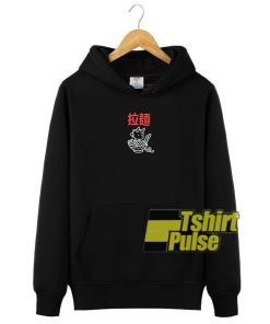 Ramen Demon Black hooded sweatshirt clothing unisex