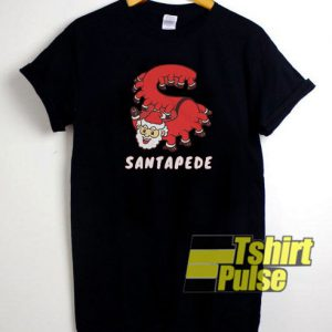 Santapede t-shirt for men and women tshirt