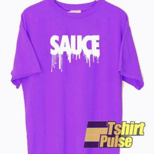Sauce Purple t-shirt for men and women tshirt