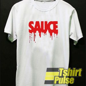 Sauce White t-shirt for men and women tshirt