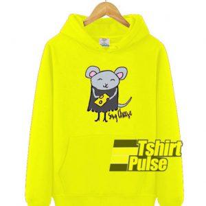 Say Cheese hooded sweatshirt clothing unisex hoodie
