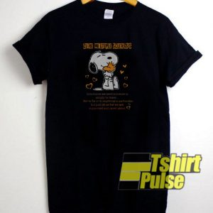 Snoopy cure multiple t-shirt for men and women tshirt