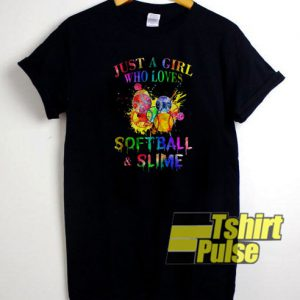 Softball And Slime t-shirt for men and women tshirt