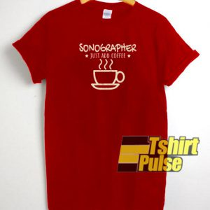 Sonographer t-shirt for men and women tshir