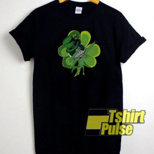 St Patrick's day Jack Skellington dabbing t-shirt for men and women tshirt