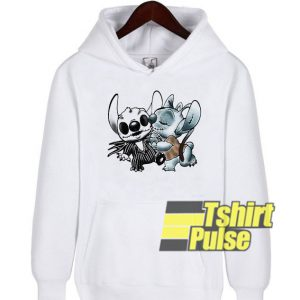 Stitch and Angel Nightmare hooded sweatshirt clothing unisex hoodie