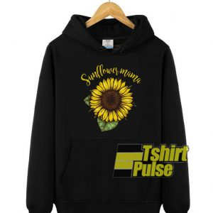 Sunflower Mama hooded sweatshirt clothing unisex hoodie