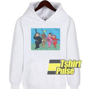 Teletubbies hooded sweatshirt clothing unisex hoodie