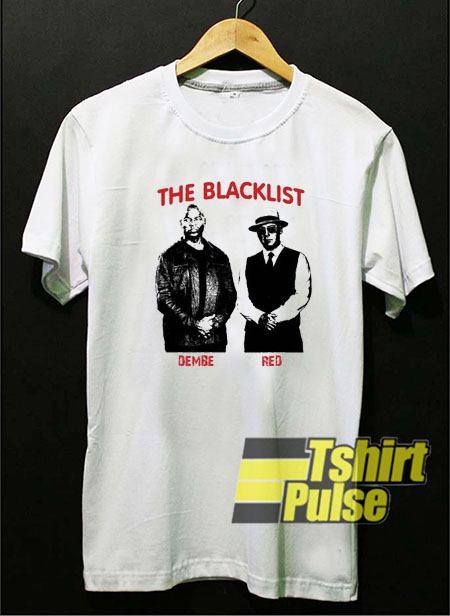 The Blacklist Dembe and Red t shirt for men and women tshirt