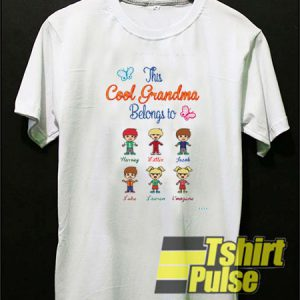 This cool grandma belongs to t-shirt for men and women tshirt