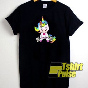 Unicorn Gym t-shirt for men and women tshirt