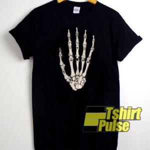 Unif Skeleton Hand t-shirt for men and women tshirt