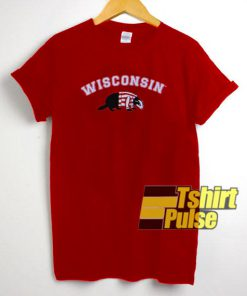 Wisconsin Red t-shirt for men and women tshirt