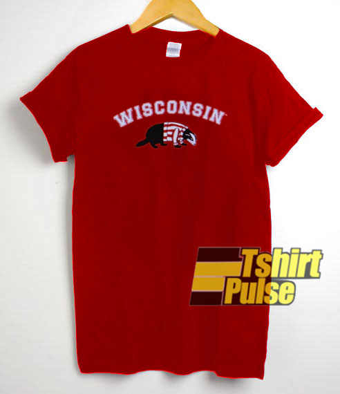 Wisconsin Red t shirt for men and women tshirt