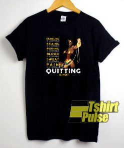 Wonder Woman Quitting Is Not t-shirt for men and women tshirt