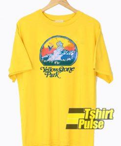 Yellow Stone Park t-shirt for men and women tshirt