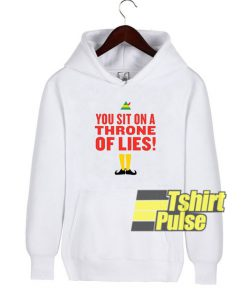 You Sit on a Throne of Lies hooded sweatshirt clothing unisex hoodie