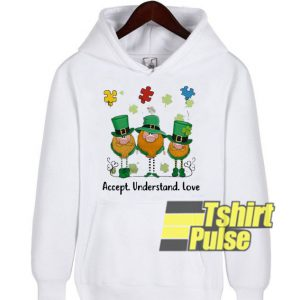 Accept Understand Love Autism hooded sweatshirt clothing unisex hoodie